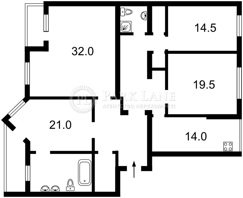 Квартира ул. Нижний Вал, 41, Киев, A-79412 - Фото 2