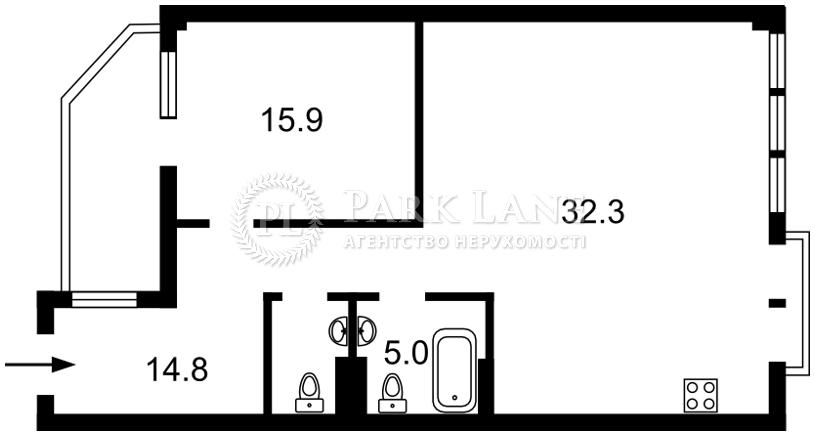 Квартира ул. Спасская, 35, Киев, R-37022 - Фото 2