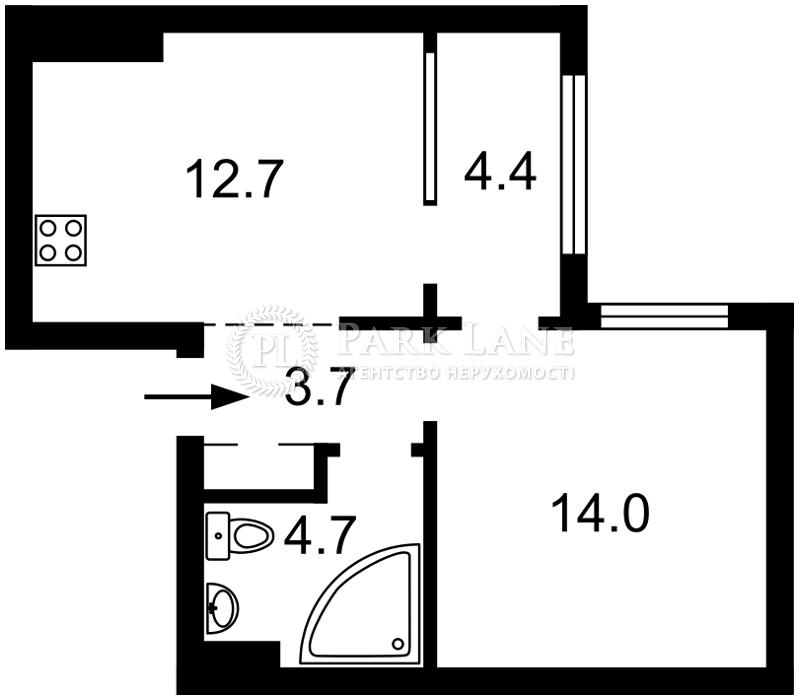 Квартира Правди просп., 13 корпус 1, Київ, B-101954 - Фото 2