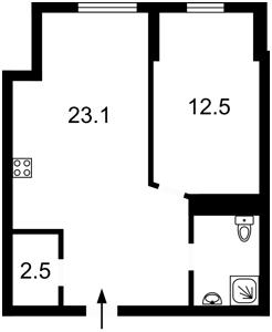 Квартира K-30840, Иоанна Павла II (Лумумбы Патриса), 11, Киев - Фото 6