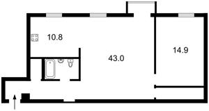 Квартира N-22744, Болбочана Петра (Каменева Командарма), 4, Киев - Фото 6