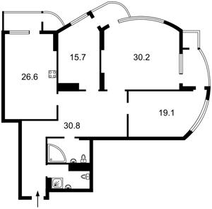 Квартира B-101975, Механізаторів, 2, Київ - Фото 4