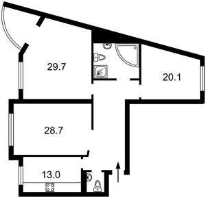 Квартира Z-790293, Голосеевский проспект (40-летия Октября просп.), 68, Киев - Фото 4