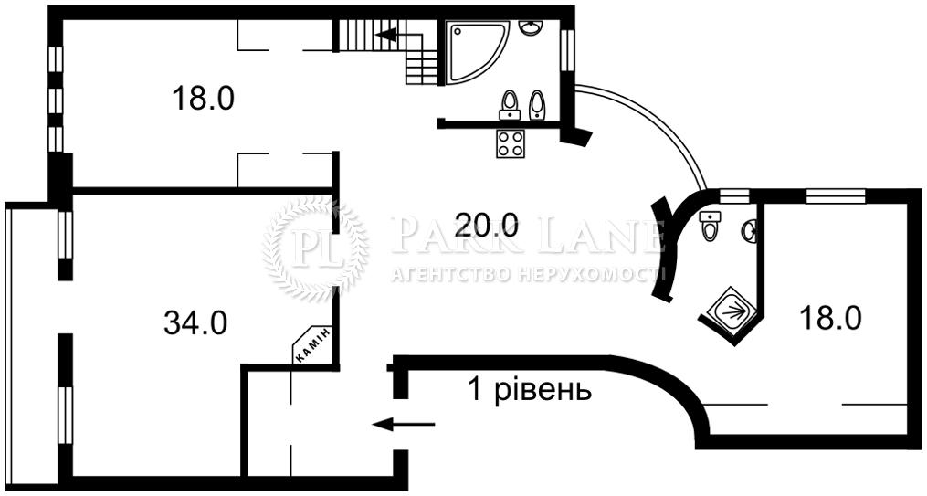 Квартира ул. Антоновича (Горького), 9, Киев, I-32239 - Фото 2