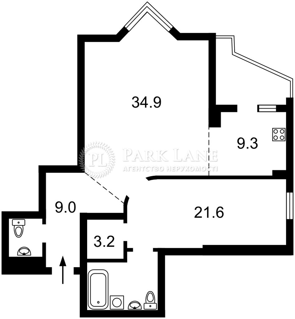 Квартира ул. Коновальца Евгения (Щорса), 32г, Киев, R-37250 - Фото 2