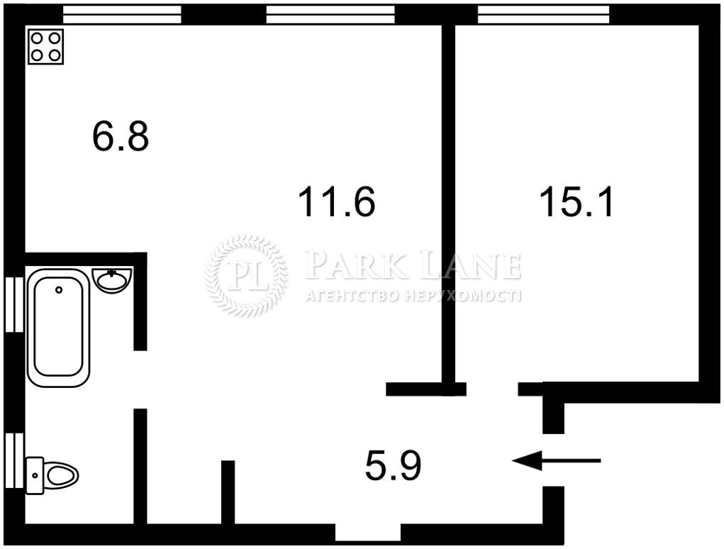 Квартира ул. Большая Васильковская, 26, Киев, Z-1744542 - Фото 2