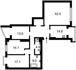 Квартира I-32419, Лютеранська, 10а, Київ - Фото 6