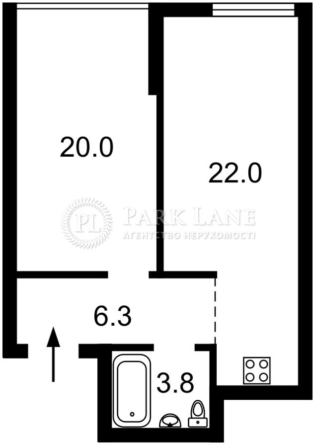 Квартира ул. Заречная, 2 корпус 2, Киев, Z-742317 - Фото 2