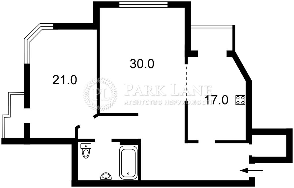 Квартира Бажана Миколи просп., 1м, Київ, Z-743744 - Фото 2
