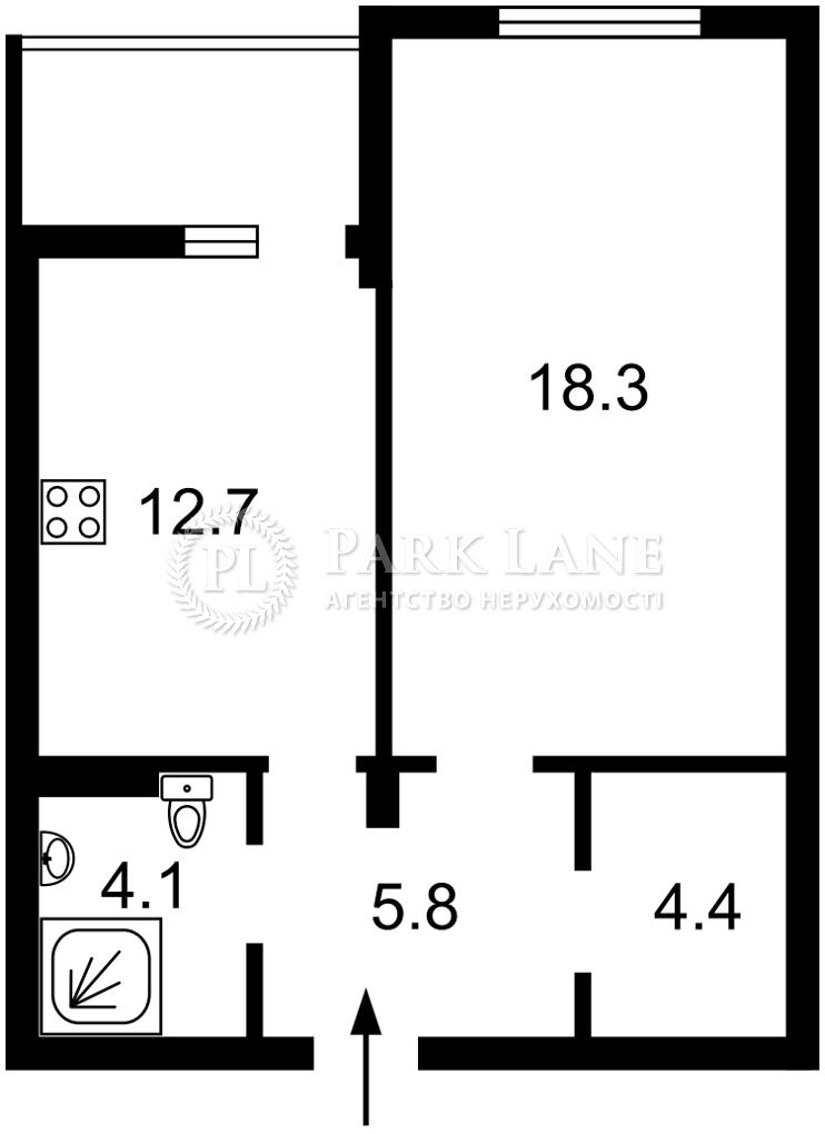 Квартира ул. Набережно-Рыбальская, 9, Киев, L-28200 - Фото 2