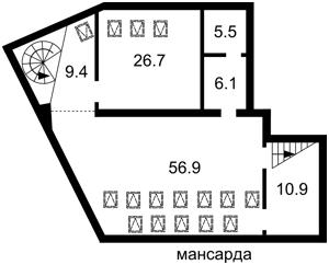 Квартира I-32483, Константиновская, 1, Киев - Фото 5