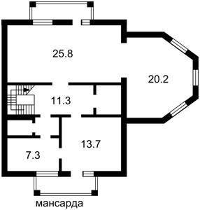 Дом N-22821, Гатное - Фото 4