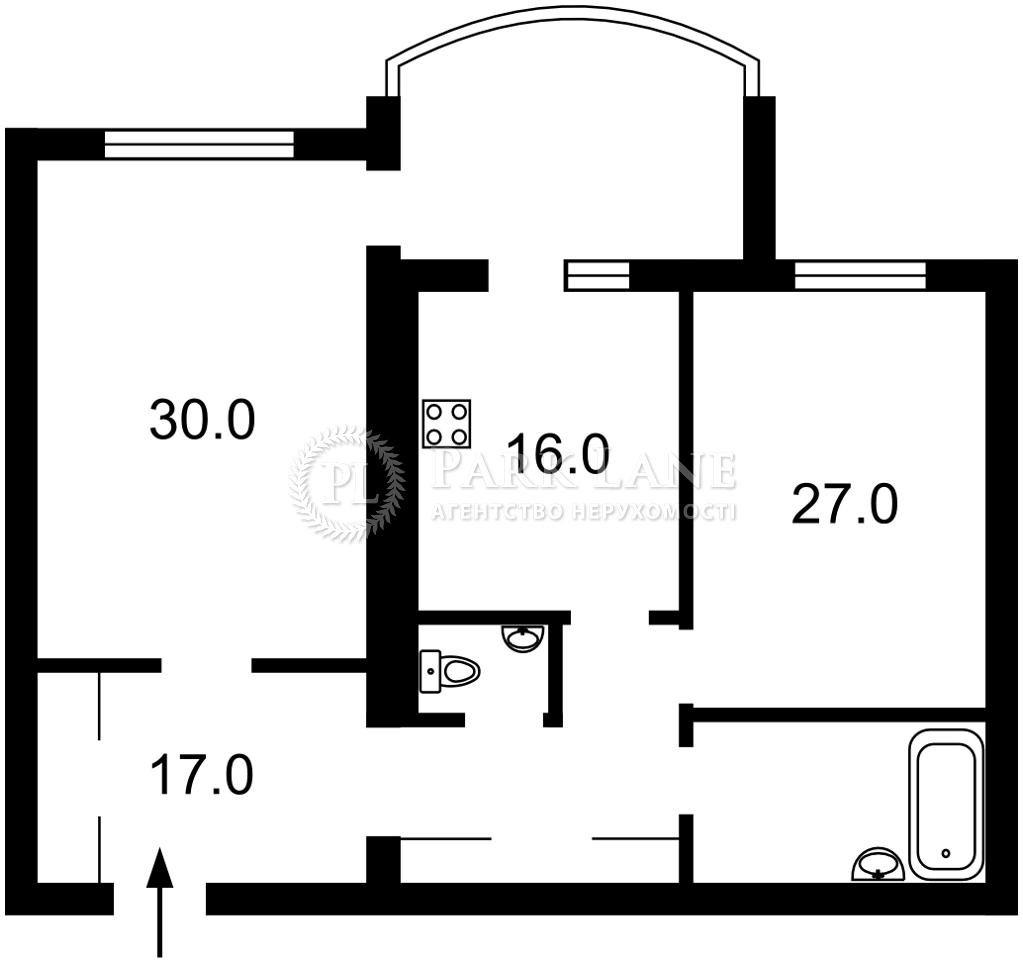 Квартира Героев Сталинграда просп., 6, Киев, L-28332 - Фото 2