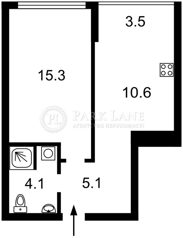 Квартира Правды просп., 43б, Киев, Z-580328 - Фото 2