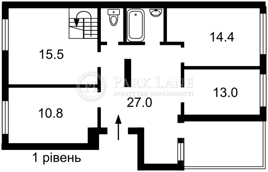 Квартира ул. Набережно-Рыбальская, 9, Киев, J-30607 - Фото 2