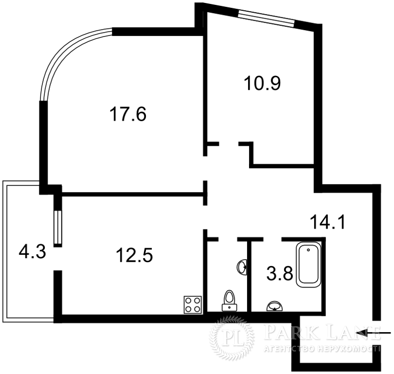 Квартира Z-742713, Клеманская, 7 корпус 2, Киев - Фото 4