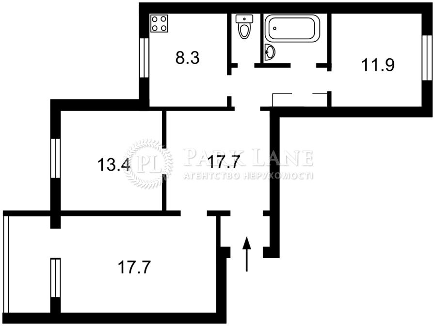 Квартира Z-754962, Академика Палладина просп., 7/60, Киев - Фото 3