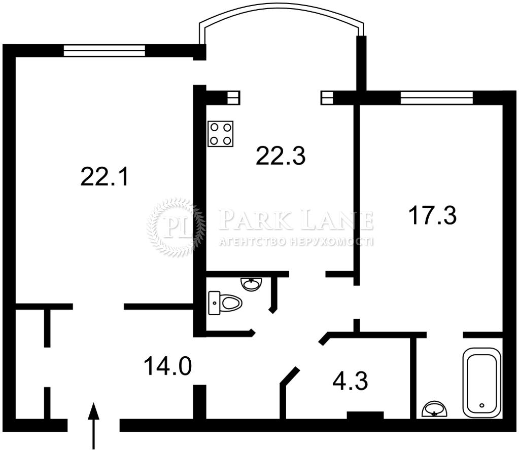 Квартира Z-614407, Героев Сталинграда просп., 10а, Киев - Фото 4