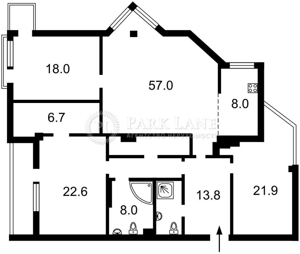 Квартира K-30877, Бульварно-Кудрявская (Воровского), 36, Киев - Фото 6