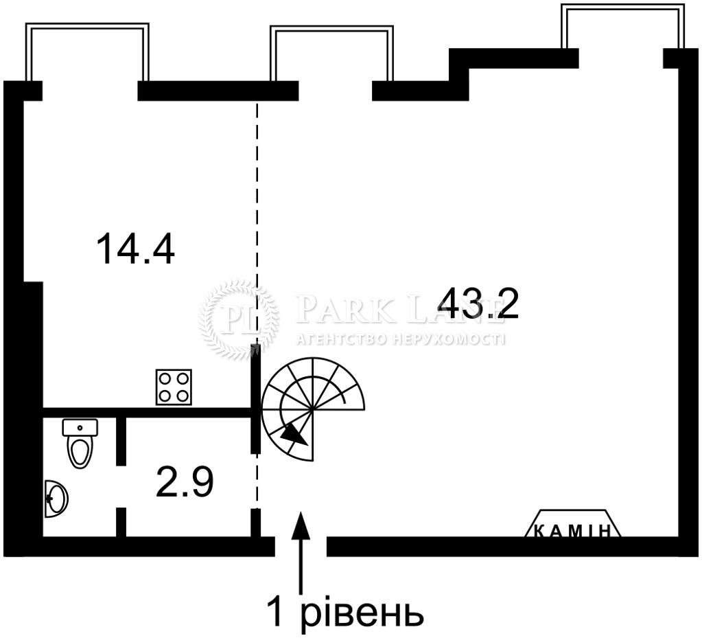 Квартира ул. Антоновича (Горького), 4/6, Киев, L-28365 - Фото 2
