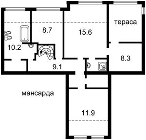 Квартира L-28365, Антоновича (Горького), 4/6, Київ - Фото 3