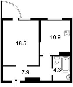 Квартира L-28376, Ломоносова, 50/2, Київ - Фото 6
