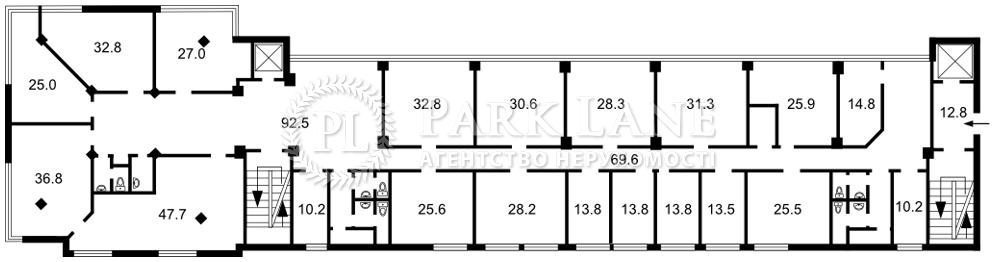 Нежитлове приміщення, B-102246, Гетьмана Вадима (Індустріальна), Київ - Фото 2