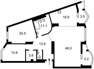 Квартира L-28378, Хмельницкого Богдана, 58а, Киев - Фото 3