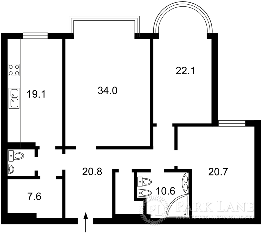 Квартира J-30708, Інститутська, 18а, Київ - Фото 4