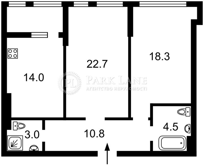 Квартира J-30600, Бульварно-Кудрявська (Воровського), 15а корпус 2, Київ - Фото 5