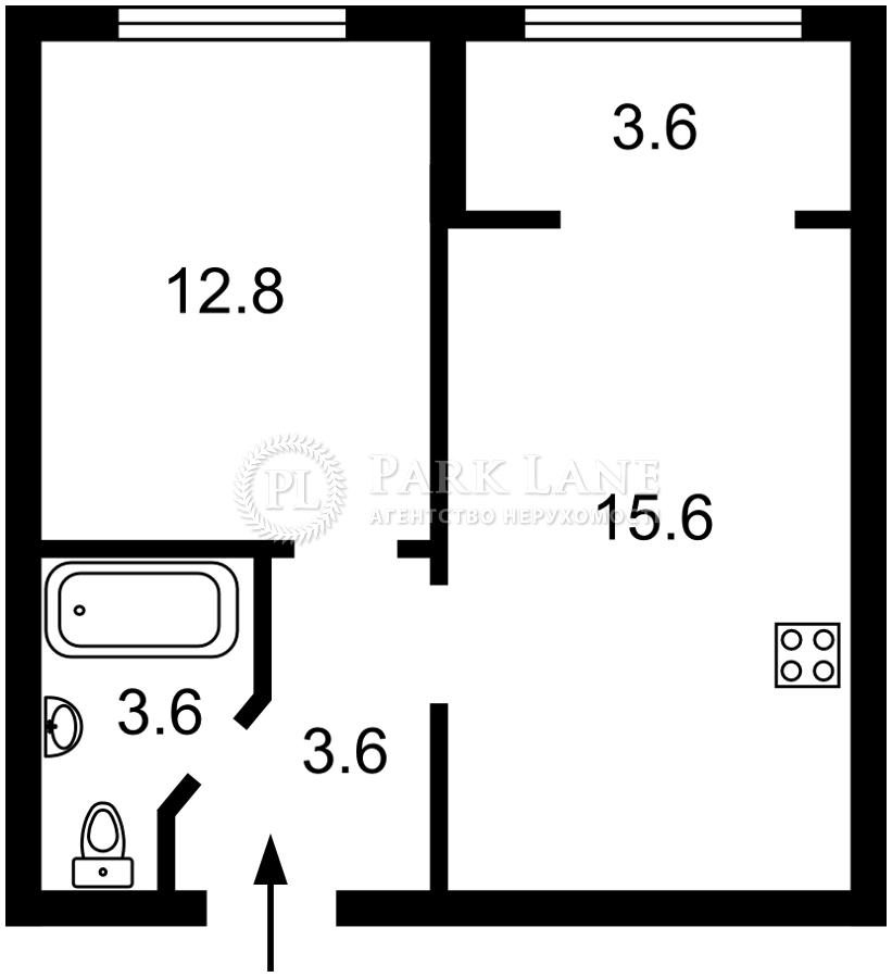 Квартира ул. Максимовича Михаила (Трутенко Онуфрия), 24 корпус 7, Киев, K-31693 - Фото 2