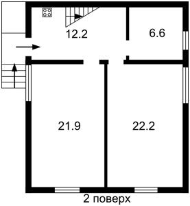 Дом J-30758, Мельника, Горбовичи - Фото 3
