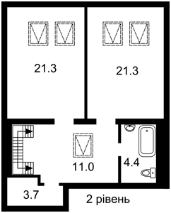 Квартира K-31729, Максимовича Михайла (Трутенка Онуфрія), 28б, Київ - Фото 8