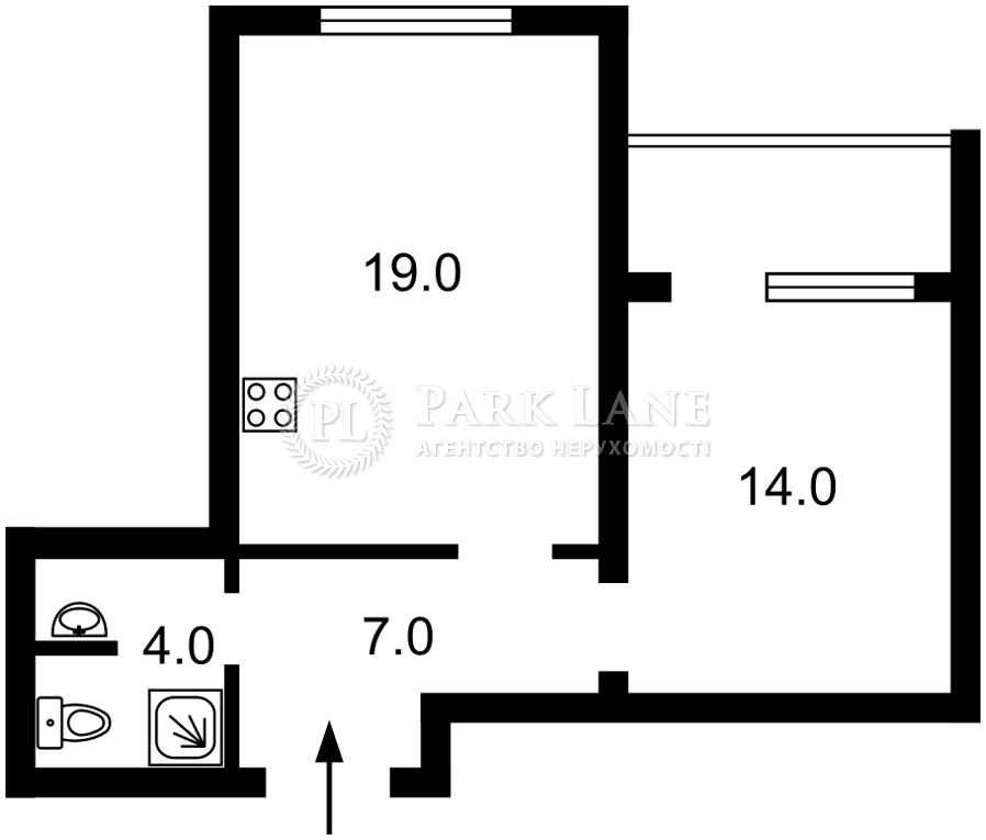 Квартира вул. Полтавська, 13, Київ, Z-364842 - Фото 2