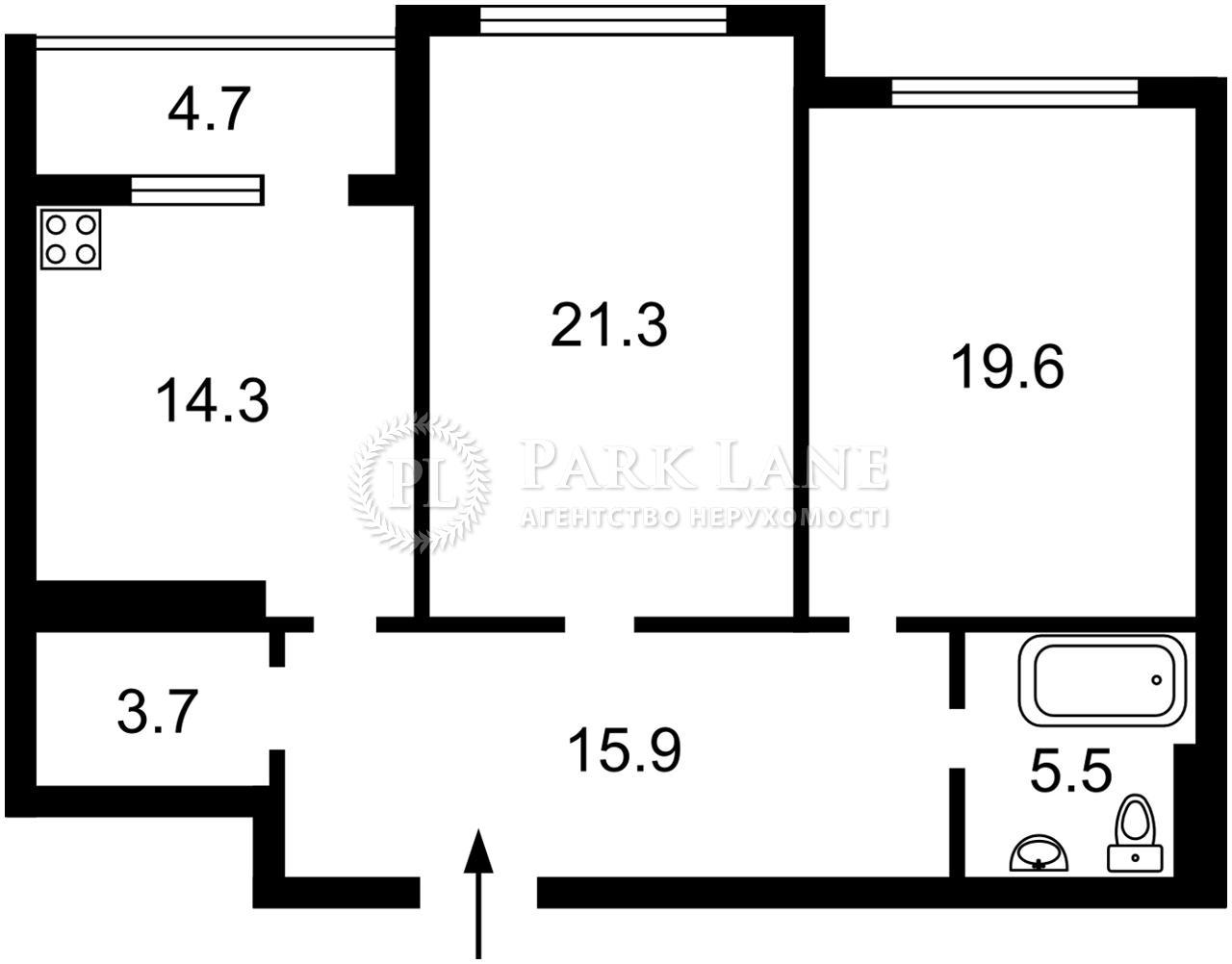 Квартира ул. Драгомирова Михаила, 15а, Киев, R-38319 - Фото 2