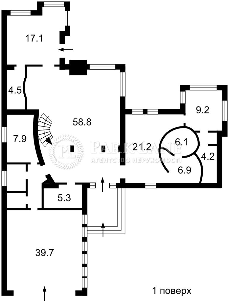 Дом J-30786, Заньковецкой, Чайки - Фото 1