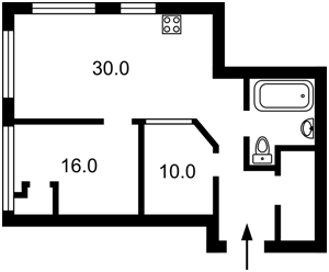 Квартира N-22904, Антоновича (Горького), 44, Киев - Фото 3