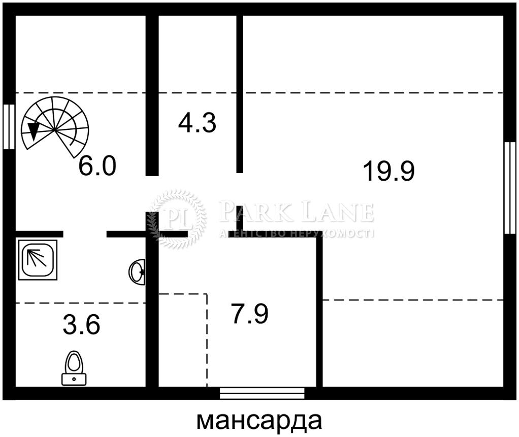 Дом B-102336, Сосновая, Ворзель - Фото 2