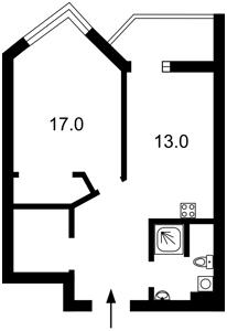 Квартира I-32689, Тютюнника Василия (Барбюса Анри), 53, Киев - Фото 6