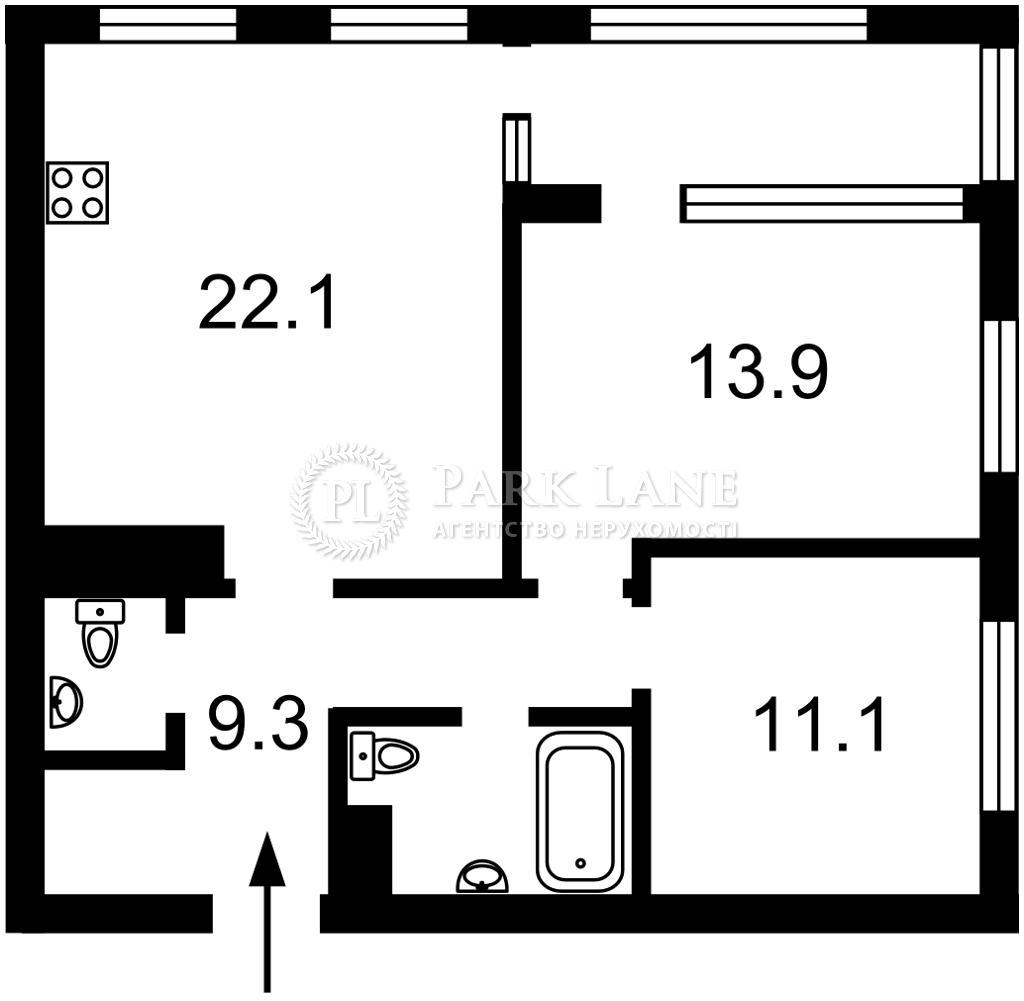Квартира ул. Днепровская наб., 16г, Киев, I-32763 - Фото 2