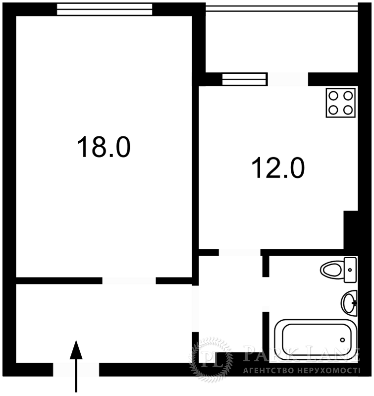 Квартира ул. Ващенко Григория, 1, Киев, R-38407 - Фото 2