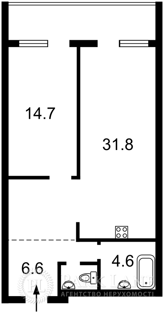 Квартира Победы просп., 55а, Киев, K-31851 - Фото 2