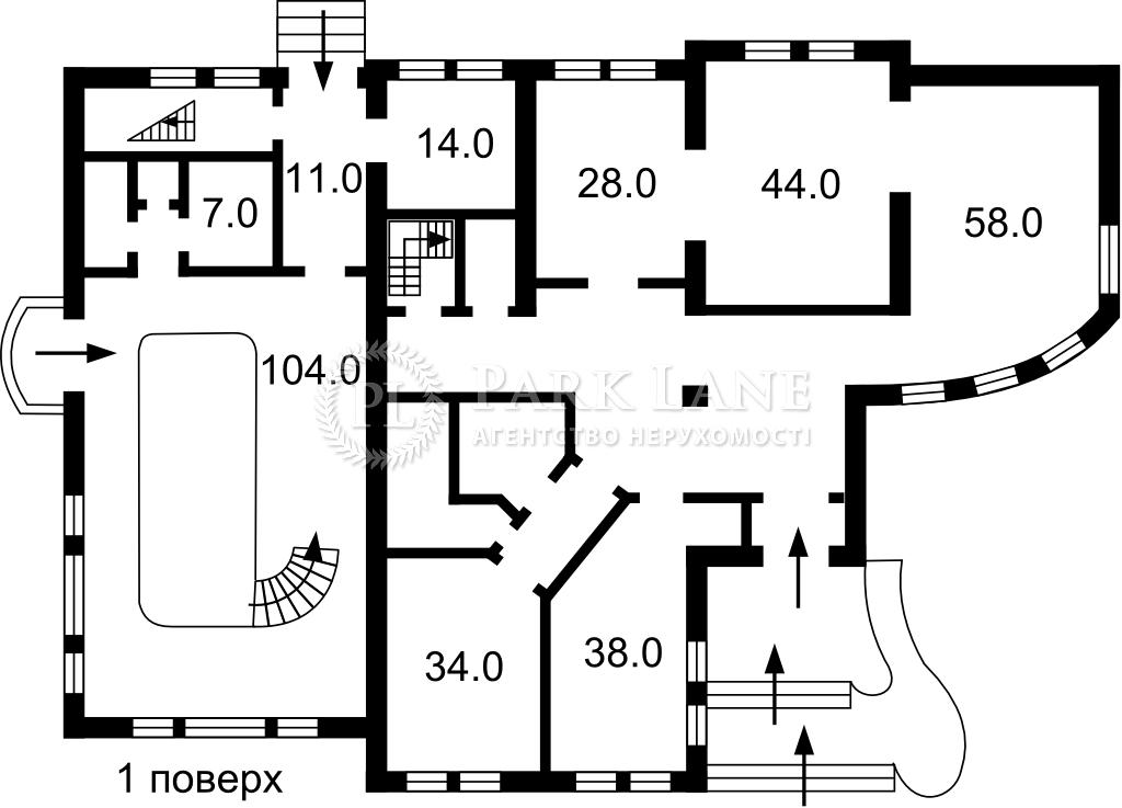 Дом ул. Хмельницкого Б., Вита-Почтовая, Z-768502 - Фото 2