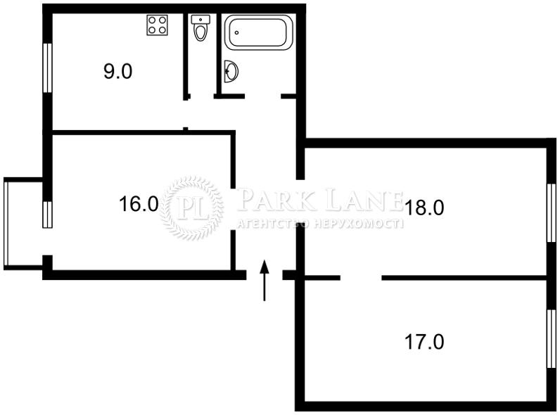 Квартира ул. Прорезная (Центр), 6, Киев, K-31865 - Фото 2