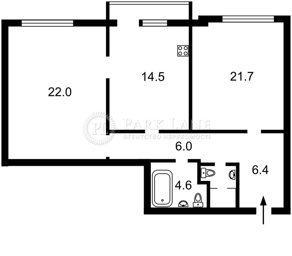 Квартира ул. Липкивского Василия (Урицкого), 37в, Киев, R-38659 - Фото 2