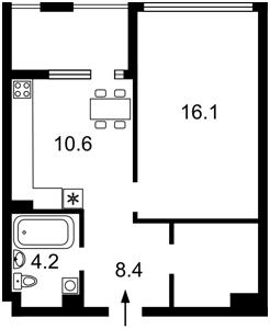 Квартира Z-768592, Соборности просп. (Воссоединения), 17 корпус 2, Киев - Фото 3