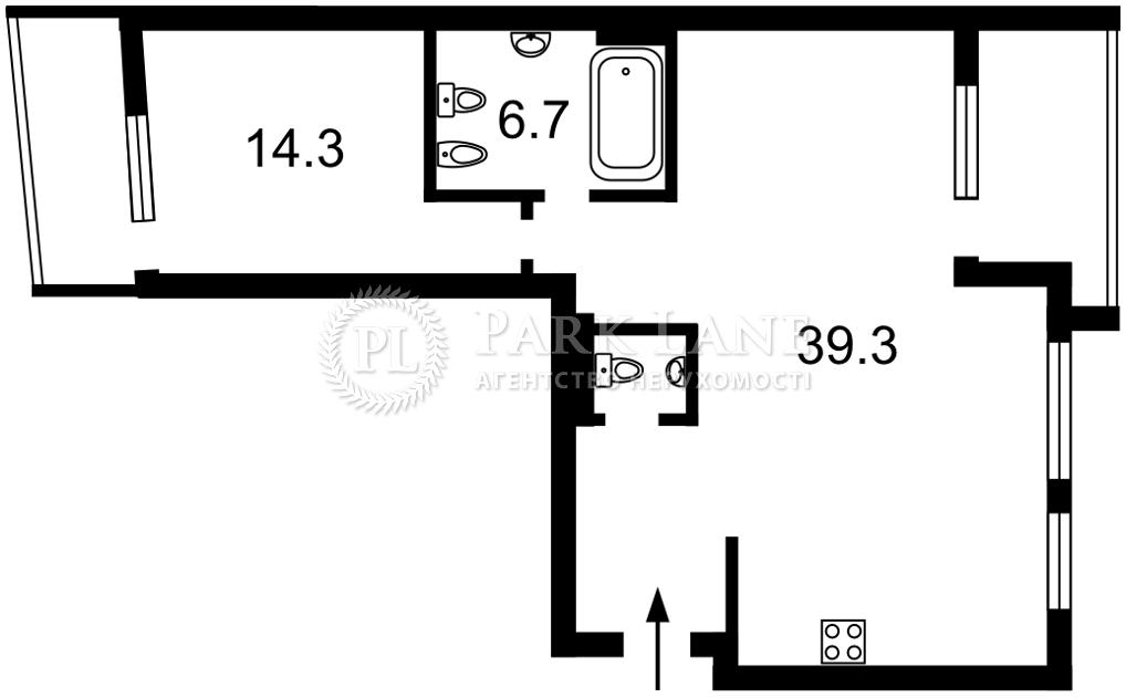 Квартира ул. Набережно-Рыбальская, 11, Киев, J-30810 - Фото 2