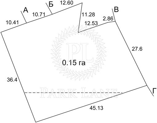 Земельный участок, M-11039