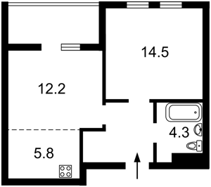 Квартира R-38743, Победы просп., 67 корпус 5, Киев - Фото 4