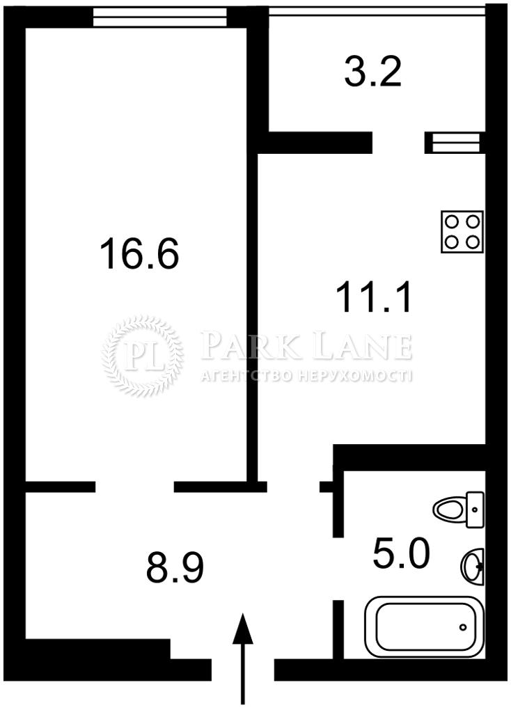 Квартира Победы просп., 109а, Киев, Z-633337 - Фото 2